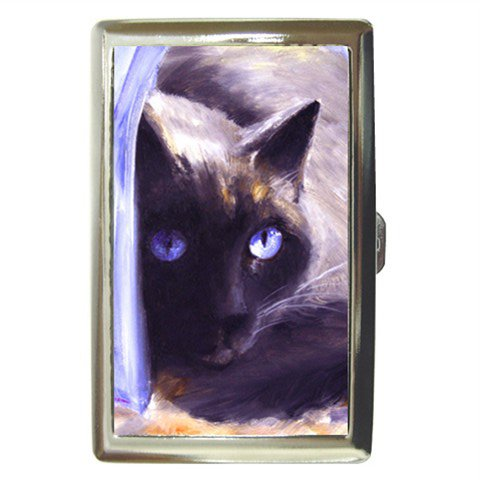 Limited Edition Violano Cigarette Money Case Siamese Cat