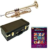 Disney Movie Hits Bb Student Trumpet Pack - Includes Trumpet w/Case & Accessories & Disney Movie Hits Play Along Book
