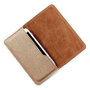 Dooda PU Leather Flip Pouch Case For Spice Stella 445