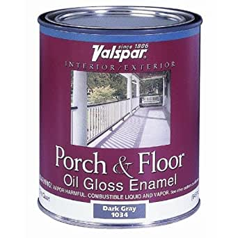 Valspar brand 1 quart clear base porch floor oil enamel paint 27 1005 qt diy Oil based exterior paint brands