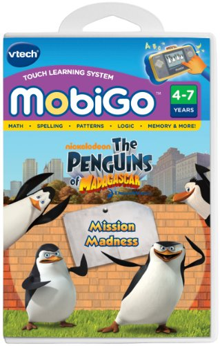 Imagen de VTech - MobiGo Software - Penguins Of Madagascar