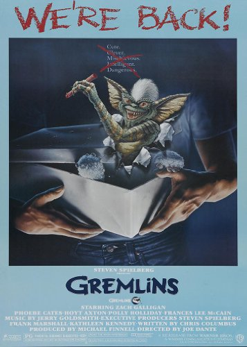 Classic Horror Comedy Gremlins Movie Film A3 Poster / Print / Picture 280GSM Satin Photo Paper