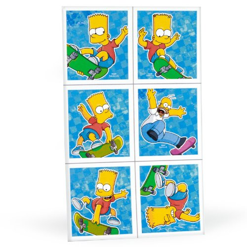 Simpsons Stickers (4 sheets)
