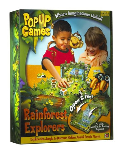 Pop Up Rainforest Safari Game