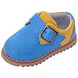 Doink Shoes Blue PU Baby Boys Loafers UK Size 8(28 to 30 mths/ 2.5 yrs)