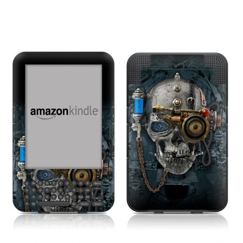 Necronaut Design Protective Decal Skin Sticker for Amazon Kindle Keyboard / Keyboard 3G (3rd Gen) E-Book Reader - High Gloss Coating