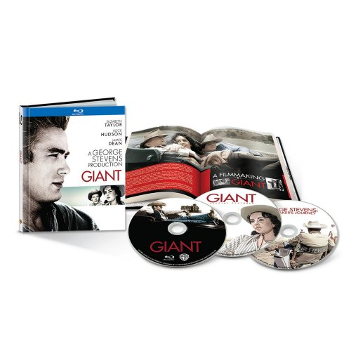 Giant [Blu-ray] 3 Disc Digibook