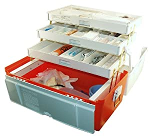 Plano Medical Box (Orange White) by Plano