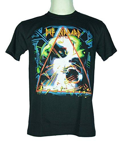 Def Leppard (Hysteria) Medium Size M Nuovo. Maglietta 1489