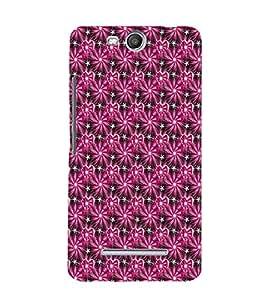 EPICCASE shiny hearts Mobile Back Case Cover For Micromax Canvas Juice 3 Q392 (Designer Case)