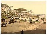Photographic Print of Victorian Photochrom On the beach, Llandudno, Wales
