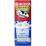 Horizon Organic Milk,  8 Ounce ,18 Count
