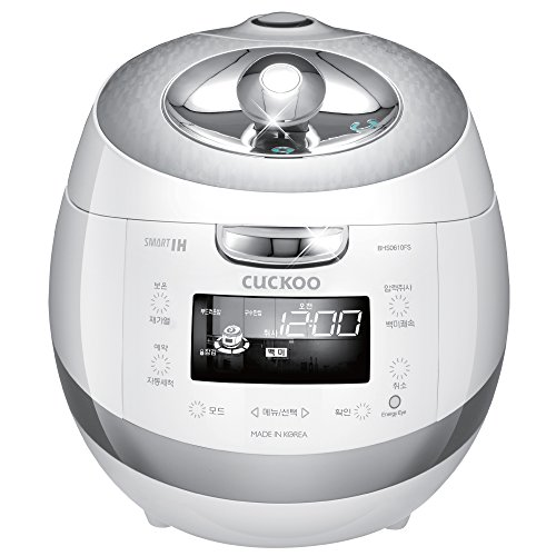 Buy Cuckoo Stainless Eco-Friendly IH Pressure Rice Cooker | CRP-BHSS0609F (6 Cups)