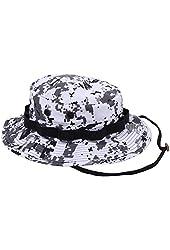 Rothco Digital Camo Poly/Cotton Boonie Hat, City Digital Camo