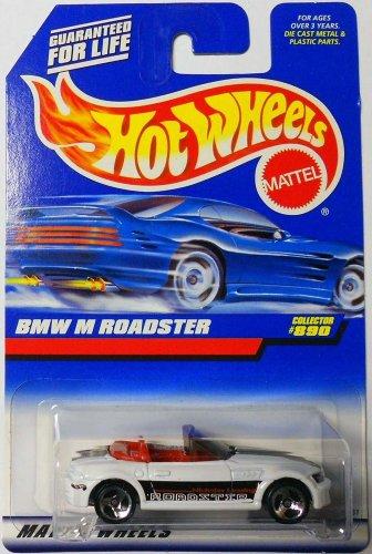 Mattel Hot Wheels 1998 1:64 Scale White BMW M Roadster Die Cast Car Collector #890 - 1