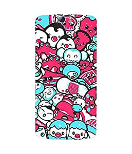 Pink And Blue Munchkins Oppo N1 Case