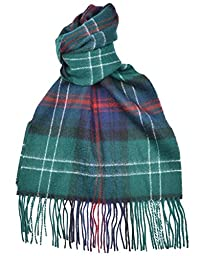 Lambswool Scottish Sutherland Old Modern Tartan Clan Scarf Gift