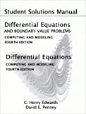 Student Solutions Manual for Differential Equations and Boundary Value Problems: Computing and Modeling