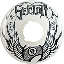 Sector 9 Top Shelf 61mm Longboard Skateboard Wheels - ghost (82a) 61mm