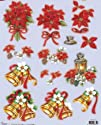 Die Cut Découpage Sheet - Christmas SL58