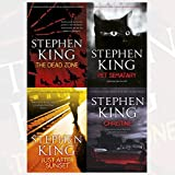 copertina libro Stephen King Fiction Collection 4 Books Set (The Dead Zone Pet Sematary Just After Sunset Christine)