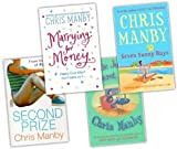 Chris Manby Chris Manby 4 Books Collection Set (Seven Sunny Days, Marrying for Money, Lizzie Jordan's Secret Life, Second Prize)