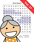 Happy Grandma s Word Search Books: Volume 37