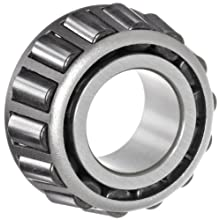 "NTN 529 Tapered Roller Bearing, Single Cone, Standard Tolerance, Straight Bore, Steel, Inch, 2"" Bore, 1.4200"" Width"