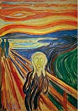 Wentworth The Scream 40 Piece Wooden Edvard Munch Jigsaw Puzzle