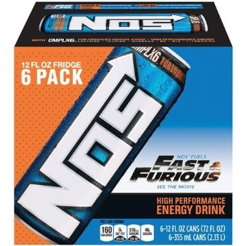 12 Pack - NOS Energy Drink - 12oz. (Nos Energy Drinks compare prices)