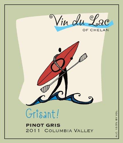 2011 Vin Du Lac Grisant! Pinot Gris 750 Ml