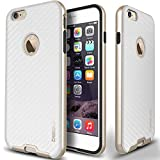 Estuche Caseology Evony Series Premium con borde de cuero para iPhone 6 Plus