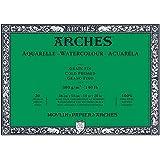 Arches Aquarelle Watercolor Block 140 lb. cold press 9 in. x 12 in. pad