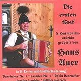 echange, troc Hans Auer - Die Ersten Fuenf Harmonik