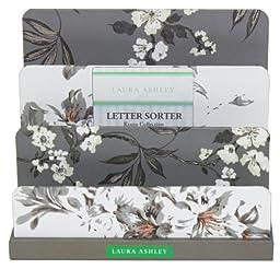 Laura Ashley Desk Top Letter Sorter, Natural Kyoto Collection, Single Item (763-0)