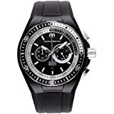 Technomarine Men's Watch 110018 with Black Dial and Black Strap