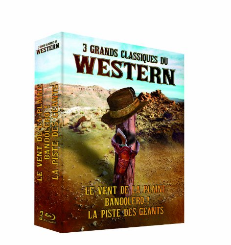 Western Classics Collection - 3-Disc Box Set ( The Unforgiven / Bandolero! / The Big Trail ) [ NON-USA FORMAT, Blu-Ray, Reg.B Import - France ]