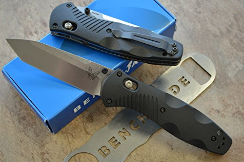 Benchmade 583 Barrage Assisted Opening Knife with FREE Benchmade Bottle Opener