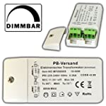 Dimmbarer LED & Halogen Trafo 10-60 W...