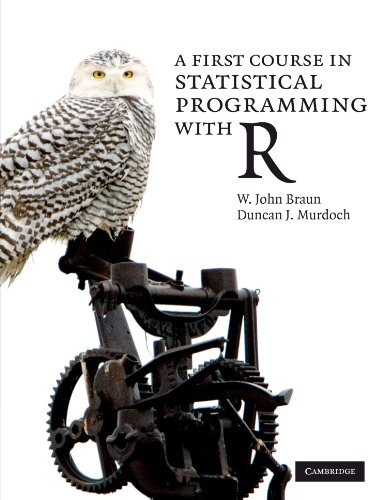 A First Course in Statistical Programming with R Paperback