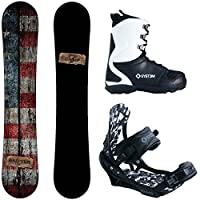 Camp Seven Drifter and APX Men's Complete Snowboard Package 2015 from Camp Seven