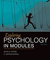 Exploring Psychology in Modules, 10th Edition Front Cover