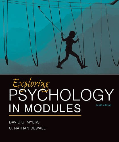 Exploring Psychology in Modules (Psychology Myers Modules compare prices)