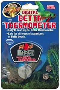Zoo Med Laboratories AZMTH28 Digital Betta Thermometer