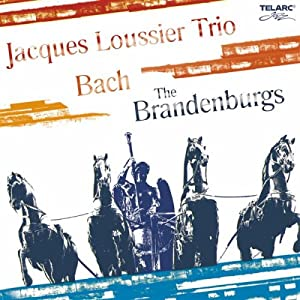 Jacques Loussier Trio -  Bach The Brandenburgs