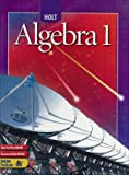 img - for Holt Algebra 1: Student Edition book / textbook / text book