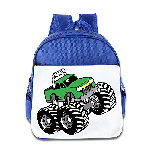 Truck Kids Backpack Boys Girls School Bag(two Colors:pink Blue) RoyalBlue (Backpack Blower Toy compare prices)