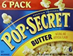 Pop-Secret Popcorn, Butter, 3.2oz, 6-...