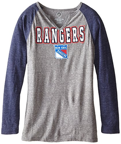NHL New York Rangers Shout Out L/S Triblend Tee