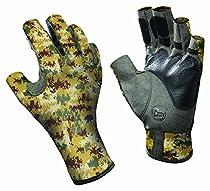 Buff Pro Series Angler Gloves II Pixels Desert L/XL